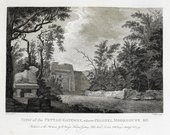 Robert Home View of the Pettah Gateway where Colonel Moorhouse Fell engraved by James Fittler 1793