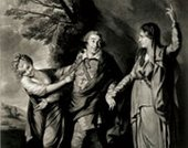 Edward Fisher after Joshua Reynolds Garrick between Tragedy and Comedy 1762