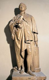 John Flaxman Model of Statue of Joshua Reynolds 1807
