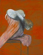 Francis Bacon Three Figures at the Base of a Crucifixion (Left Panel)