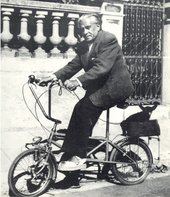 Olga Picabia Francis Picabia on his bicycle with his dog Ninie