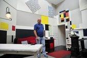 Frans Postma Mondrian studio Tate Liverpool