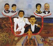 Frida Kahlo My Grandparents, My Parents and I