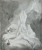 Henry Fuseli Hephaestus, Bia and Crato Securing Prometheus on Mount Caucasus circa 1810