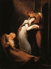 Henry Fuseli Huon and Amanda with The Dead Alphonso 1804-1805