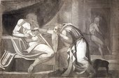 Henry Fuseli King David being warned by The Prophet Nathan circa 1772