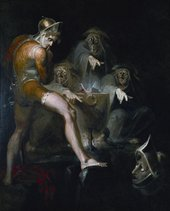 Henry Fuseli Macbeth Consulting the Vision of the Armed Head