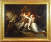 Henry Fuseli Percival Delivering Belisane from the Enchantment of Urma