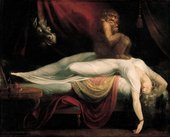 Henry Fuseli The Nightmare exhibited 1782