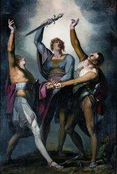 Henry Fuseli The Oath on the Ruttli