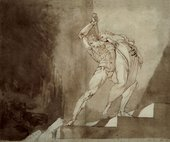 Henry Fuseli Othar Rescuing Siritha from a Giant 1781