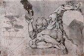 Henry Fuseli Prometheus 1770-1771