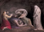 Henry Fuseli Samuel appearing to Saul in the Presence of the Witch of Endor 1777