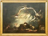 Henry Fuseli The Shepherd Dream, from Paradise Lost 1793