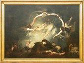 Henry Fuseli The Shepherd Dream, from Paradise Lost 1793