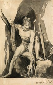 Henry Fuseli Siegfried Having Slain Fafner The Snake 1806