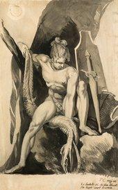 Henry Fuseli Siegfried Having Slain Fafner The Snake 1806