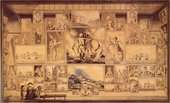 EF Burney The Royal Academy Exhibition of 1784