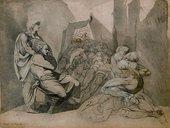 Henry Fuseli The Thieves Punishment (Die Strafe der Diebe) 1772