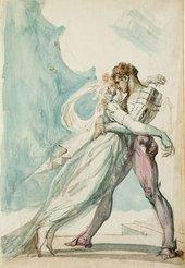Henry Fuseli Undine and Huldbrand circa 1819-1822