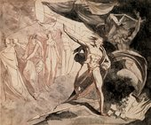 Henry Fuseli The Witches Show Macbeth the Descendants of Banquo