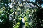 Garden pathway, Broughton House