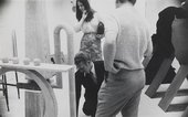 George Fullard and Phyllida Barlow at Chelsea School of Art, c.1967