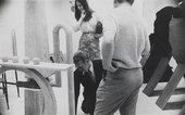 George Fullard and Phyllida Barlow at Chelsea School of Art, c.1967