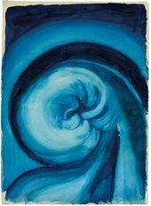 Georgia O'Keeffe, Blue I, 1916