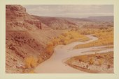 Photograph of the Chama River, New Mexico, taken by Georgia O'Keeffe