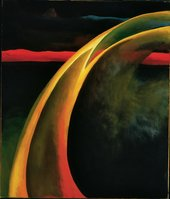 Georgia O'Keeffe, Red and Orange Streak, 1919