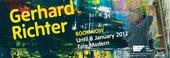 Gerhard Richter Tate Modern exhibition banner