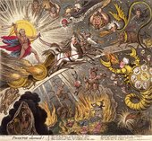 James Gillray Phaeton Alarm'd