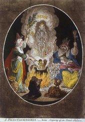 James Gillray A Phantasmagoria 5 January 1803