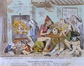James Gillray Un Petit Souper
