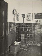 August Sander Sander's studio/home, Cologne: Workroom (Sander's Studio/Wohnung, Köln: Arbeitszimmer) about 1930–1942