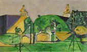 Graham Sutherland Homage to Picasso 1947