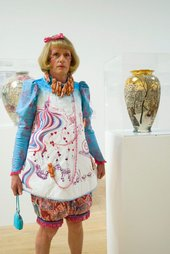 Grayson Perry at the 2003 Turner Prize reception, 2003