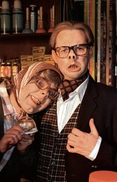 Steve Pemberton as Tubbs and Reece Shearsmith as Edward in The League of Gentlemen
