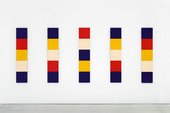 Ellsworth Kelly Red Yellow Blue White  1952