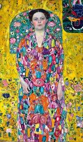 Gustav Klimt Portrait of Eugenia Primavesi c. 1913-14