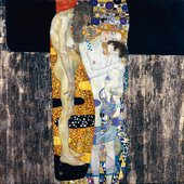 Gustav Klimt The Three Ages of Woman 1905