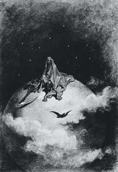 Gustave Doré Illustration for Edgar Allan Poe's The Raven 1832–3