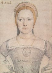 Hans Holbein the Younger M Zouch c.1538
