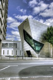 Graduate centre at the London Metropolitan University, designed by Daniel Libeskind