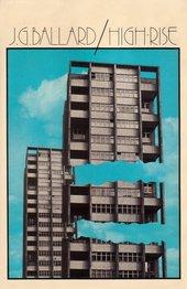 J G Ballard High Rise 1975 Book cover design