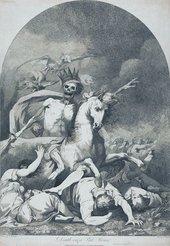 John Haynes after John Hamilton Mortimer Death on a Pale Horse