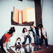 Children playing underneath Hélio Oiticica's NC 1 Small Nucleus no 01  1960