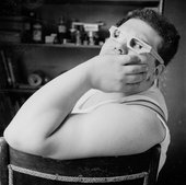 Photograph of Eduardo Paolozzi by Nigel Henderson