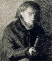 Henri Fantin-Latour Self-Portrait c.1860